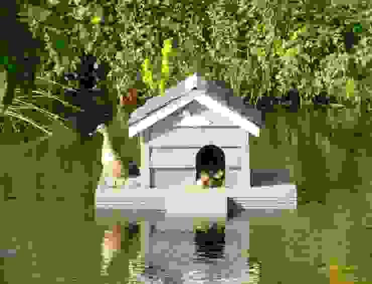 Duck House Jardin rural par Roundhouse Architecture Ltd Rural