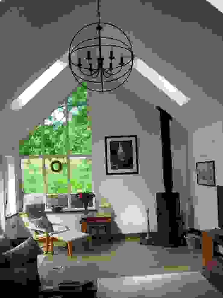 Sitting room Salon rural par Roundhouse Architecture Ltd Rural