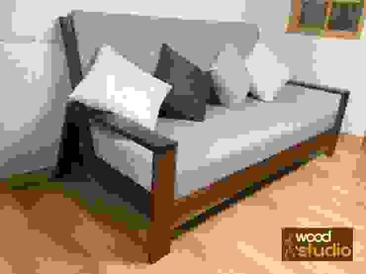 원목 소파 (walnut sofa): 홍스목공방의 스칸디나비아 사람 ,북유럽