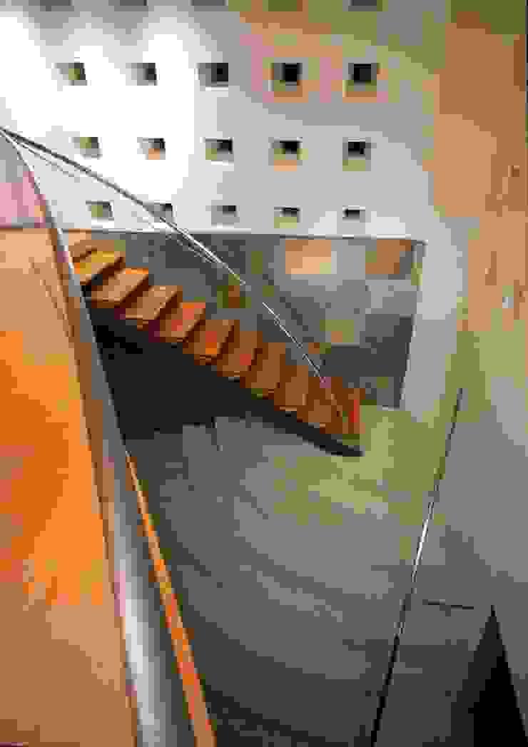 U RESIDENCE モダンスタイルの 玄関&廊下&階段 の Mアーキテクツ|高級邸宅 豪邸 注文住宅 別荘建築 LUXURY HOUSES | M-architects モダン