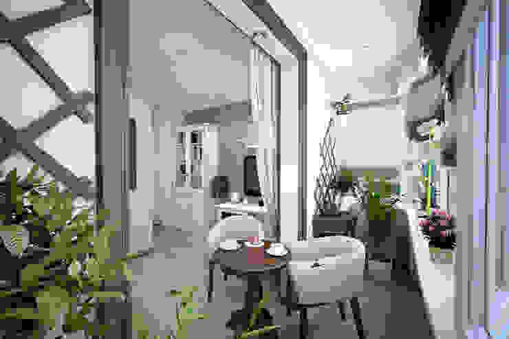 Дизайн-проект квартиры в г. Москве Гостиная в классическом стиле от SmaginVladimir Классический