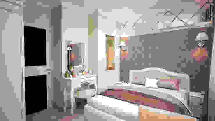 Дизайн-проект квартиры в г. Москве Спальня в классическом стиле от SmaginVladimir Классический