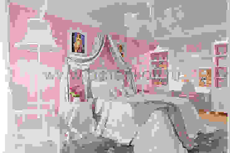 homify Nursery/kid's room Paper Pink