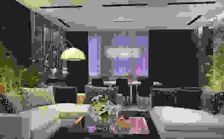 Гостиная Гостиная в стиле минимализм от Архитектор-дизайнер Марина Мухтарова Минимализм