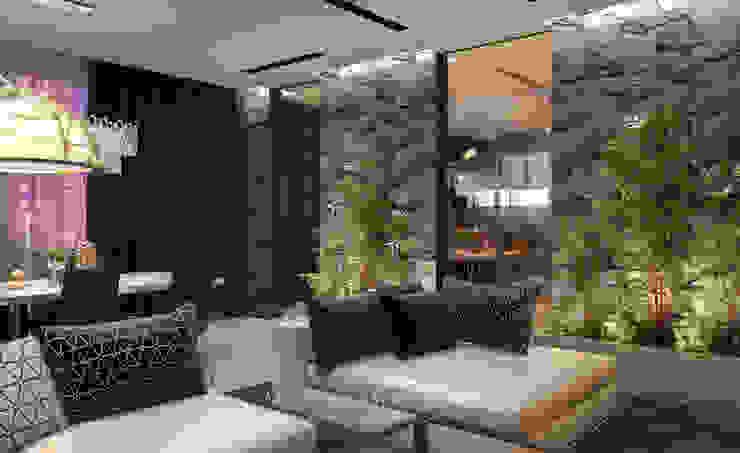 Гостиная Гостиная в стиле минимализм от Архитектор-дизайнер Марина Мухтарова Минимализм Камень