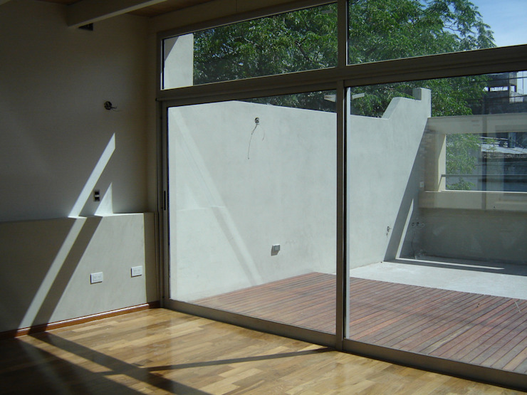 Modern houses by Paula Mariasch - Juana Grichener - Iris Grosserohde Arquitectura Modern