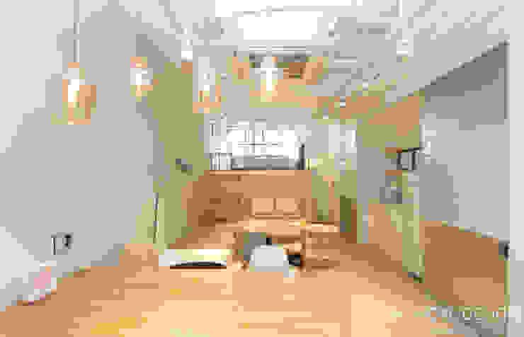 Phòng học/văn phòng phong cách công nghiệp bởi 홍예디자인 Công nghiệp