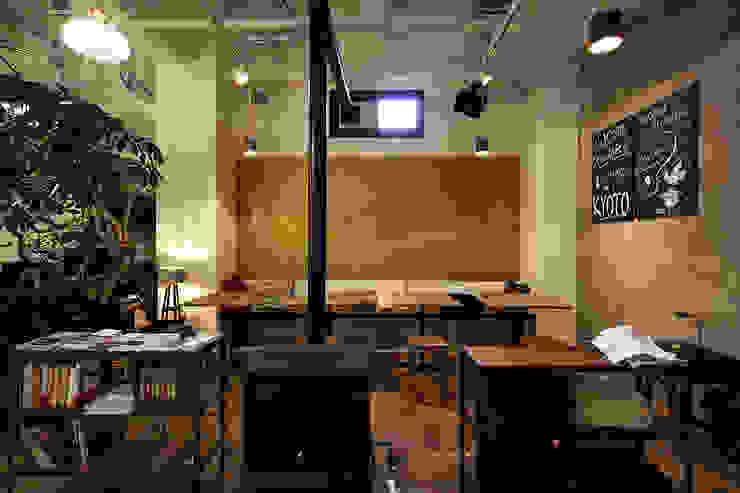 Jimukino-Ueda - ジムキノウエダ - インダストリアルデザインの ダイニング の 株式会社アーキネット京都1級建築士事務所 インダストリアル
