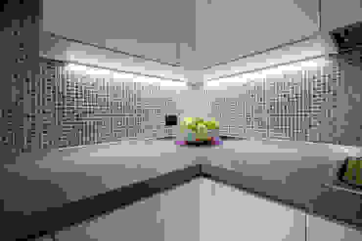Cuisine originale par Marco D'Andrea Architettura Interior Design Éclectique Poterie