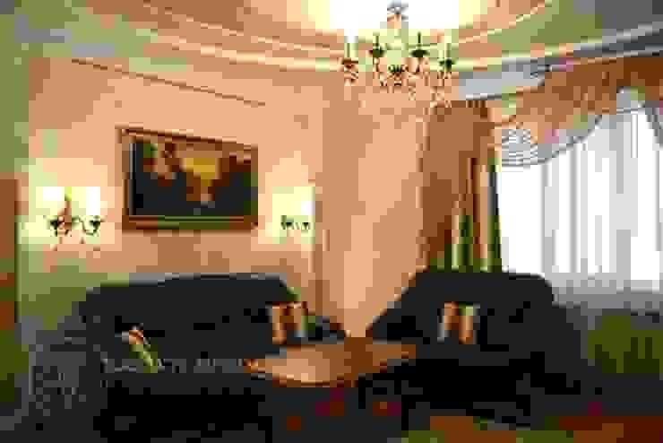 Дизайн дома 120 м2 Гостиная в классическом стиле от Contempodes Классический