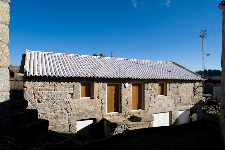Rustic style houses by BICA Arquitectos Rustic