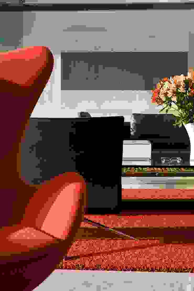 Casa BA Salas de estilo moderno de oda - oficina de arquitectura Moderno