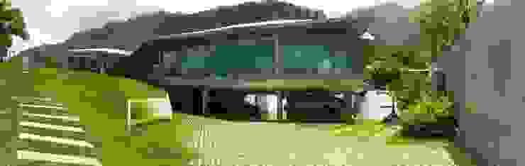 Casa AG Jardines de estilo moderno de oda - oficina de arquitectura Moderno