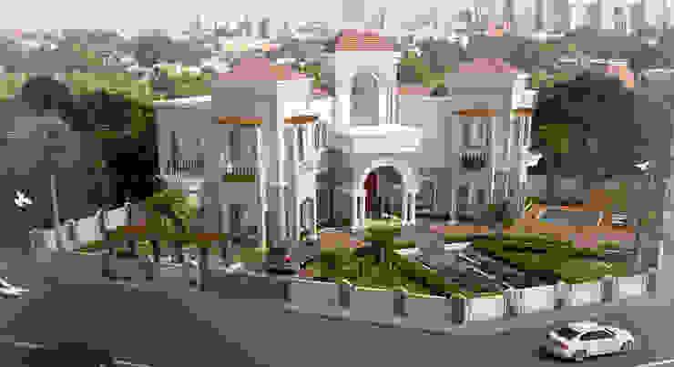 Villa At Dubai Classic style houses by SDA designs Classic