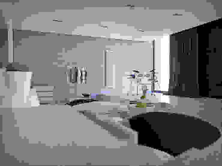 150 квадратных метров многофункционального пространства для музыканта. Киев. Медиа комната в стиле лофт от ONEDESIGN Лофт