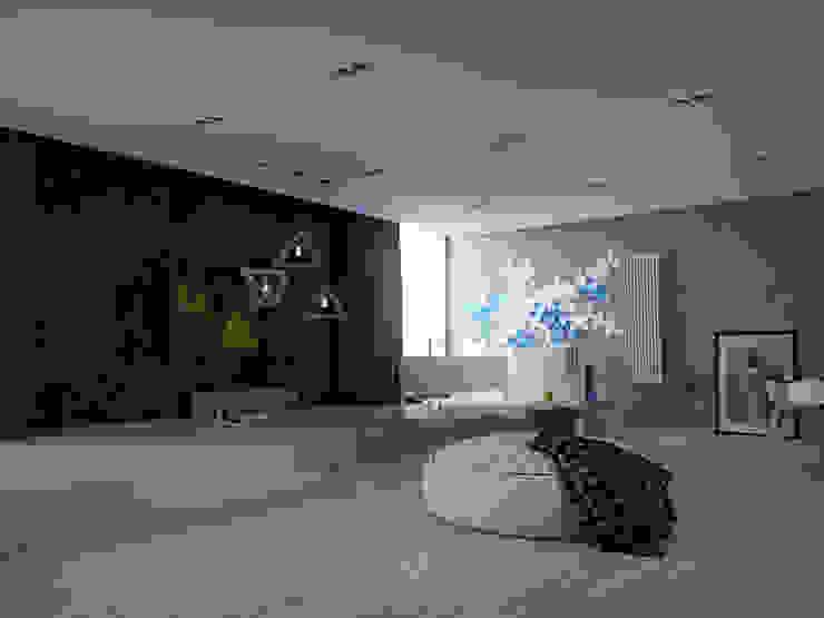 150 квадратных метров многофункционального пространства для музыканта. Киев. Ванная в стиле лофт от ONEDESIGN Лофт