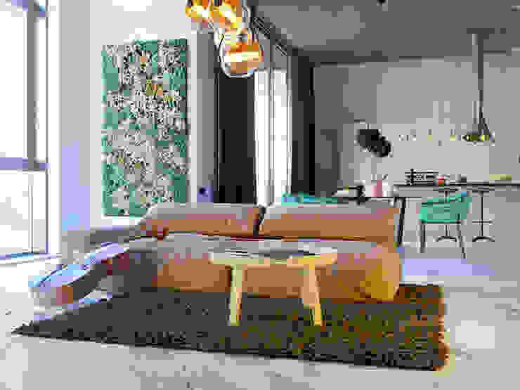 Pechersk apartment Спальня в стиле лофт от ONEDESIGN Лофт