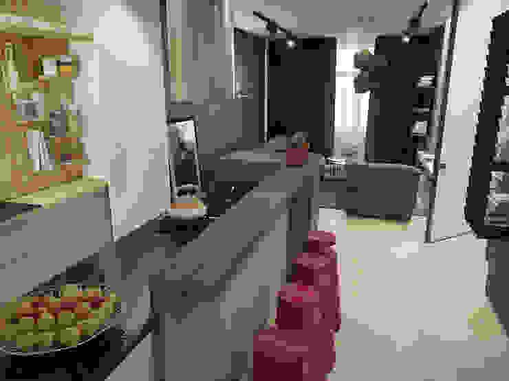 Новопечерские Липки Кухня в стиле лофт от ONEDESIGN Лофт