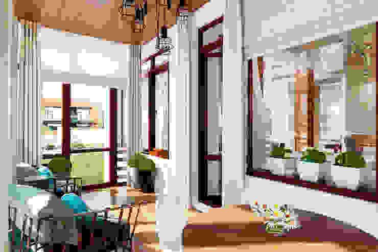 Тот самый LOFT house Балкон и веранда в стиле лофт от Дизайн Мира Лофт