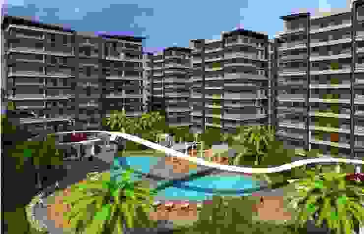 CCT 111 Project in Beylikduzu Modern Balkon, Veranda & Teras CCT INVESTMENTS Modern