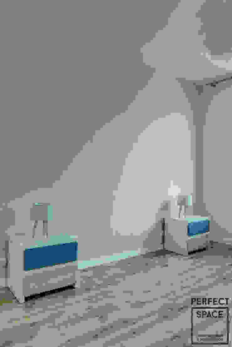 Włoska robota Nowoczesna sypialnia od Perfect Space Nowoczesny