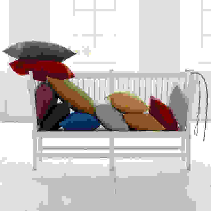 Stilvolle Couchbegleiter - Kissen: modern  von Fiolini,Modern