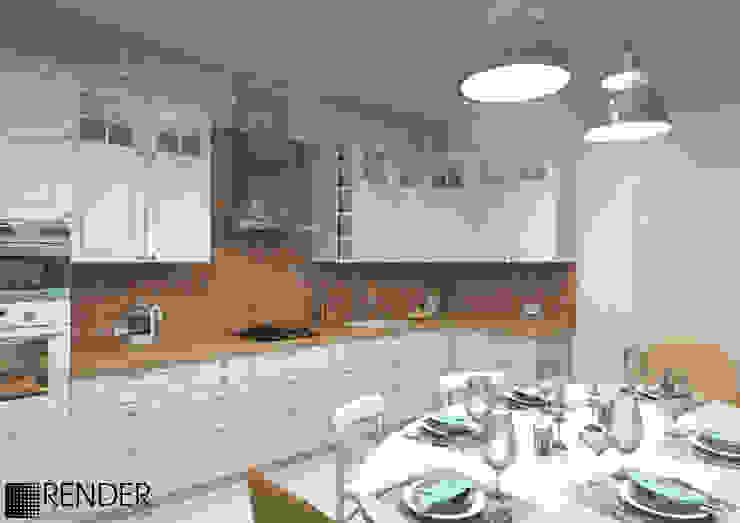 Scandinavian style kitchen by homify Scandinavian