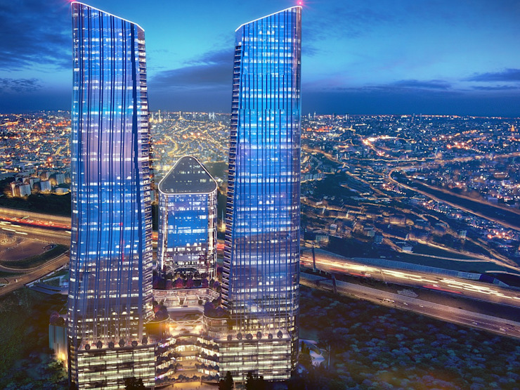 CCT 152 Project in Syrantepe Modern Evler CCT INVESTMENTS Modern