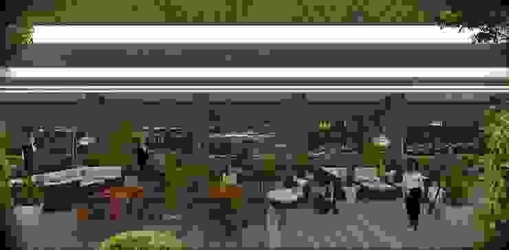 CCT 155 Project in Halic Modern Balkon, Veranda & Teras CCT INVESTMENTS Modern