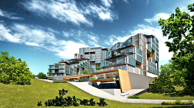 Houses by apak mimarlık, Modern