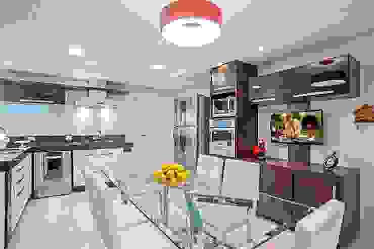 Кухня в стиле модерн от Patrícia Azoni Arquitetura + Arte & Design Модерн