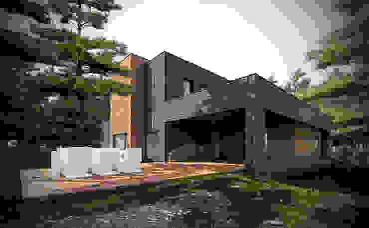 Дома в стиле модерн от PL+sp. z o.o. Модерн