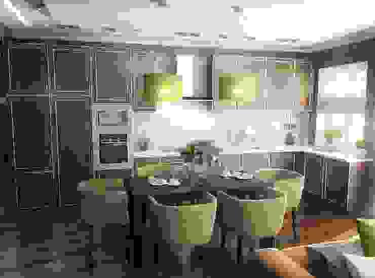 Кухня-гостинная Гостиная в стиле лофт от Проектное бюро O.Diordi Лофт