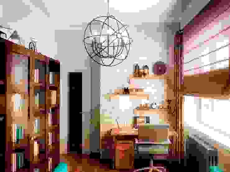 Кабинет Гостиная в стиле лофт от Проектное бюро O.Diordi Лофт