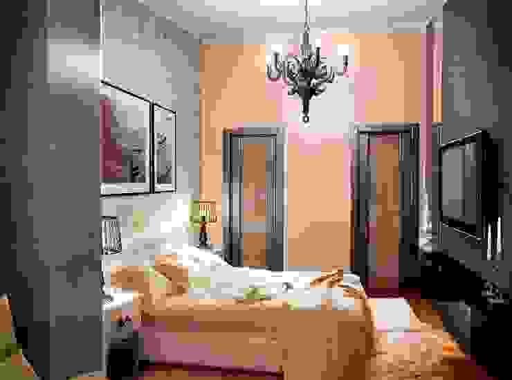 Спальня Спальня в стиле лофт от Проектное бюро O.Diordi Лофт