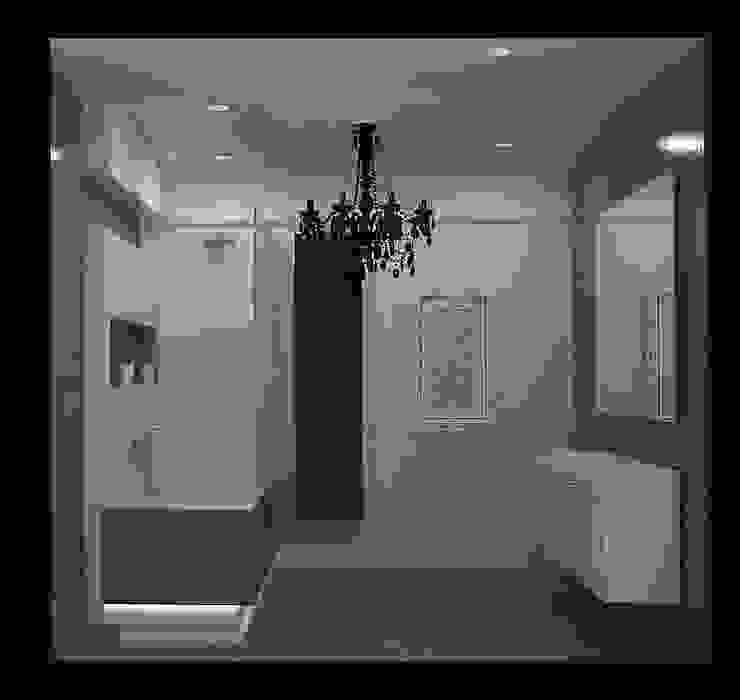 ванная вид 1. Ванная в классическом стиле от freeDOM Классический Плитка