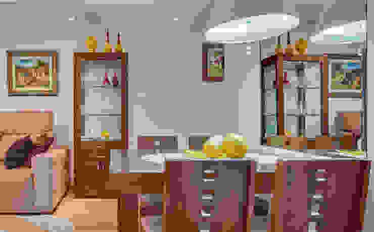 Sala de Estar/Jantar Salas de jantar modernas por Patricia Vertuan Moderno