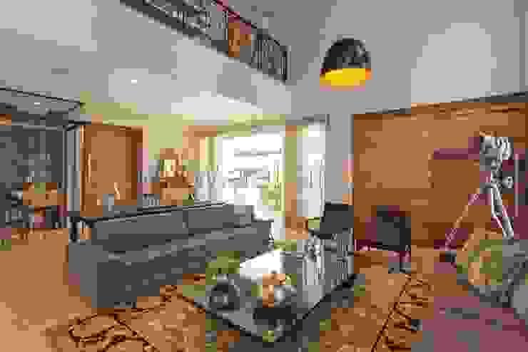 Sala de Estar Salas de estar modernas por aei arquitetura e interiores Moderno