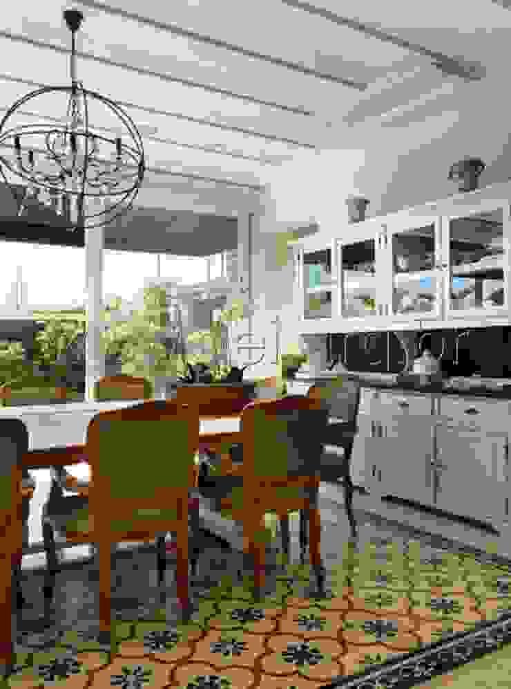 Sala de Jantar Salas de jantar modernas por aei arquitetura e interiores Moderno