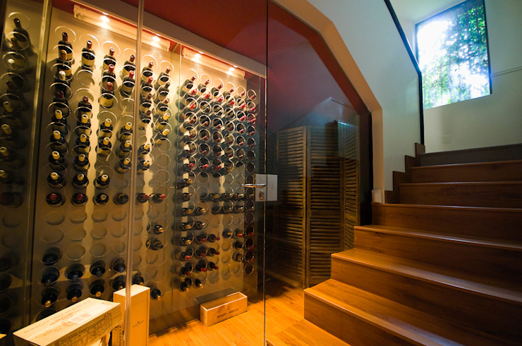 Wine cellar by TESTA studio , Modern