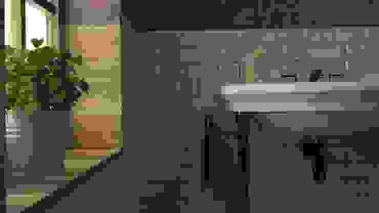 Relajación de un baño Baños eclécticos de SIMPLE actitud Ecléctico Cerámica