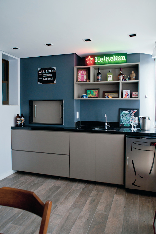 Apartamento MGT Varandas, alpendres e terraços modernos por Maxma Studio Moderno