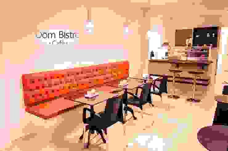 Gastronomía de estilo minimalista de Daniely Victor - Designer de Interiores Minimalista Sintético Marrón
