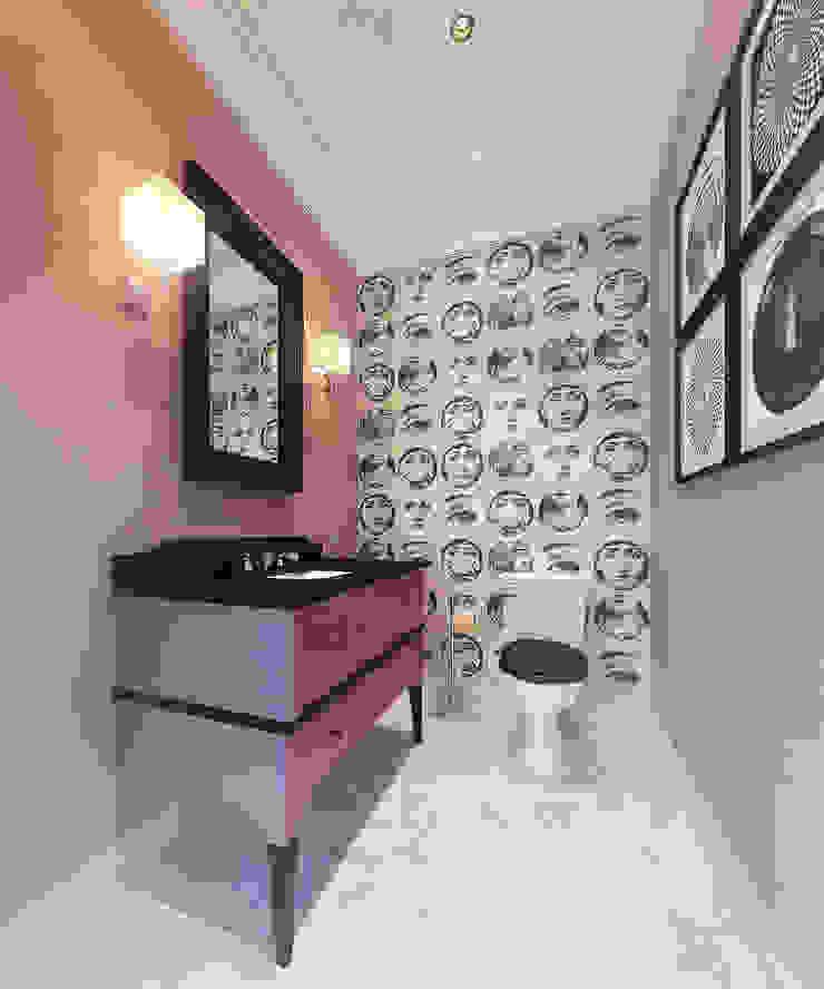 Apartment in Moscow Ванная в классическом стиле от KAPRANDESIGN Классический Мрамор