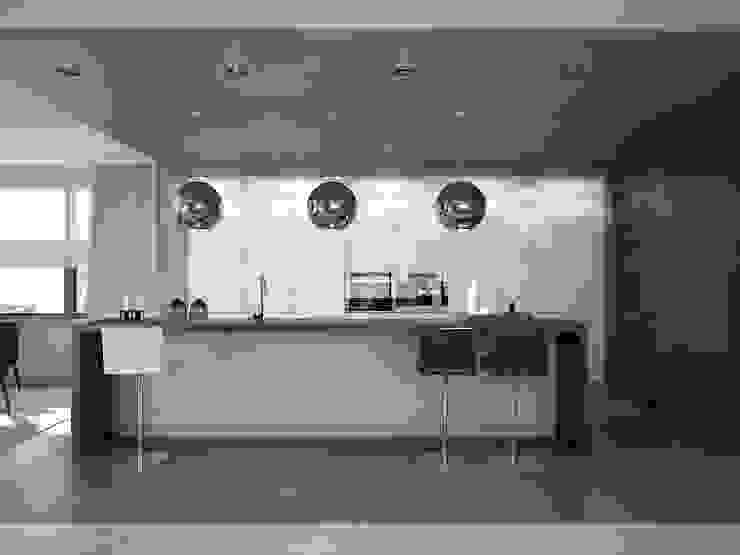 Kitchen. Options. USA Кухня в стиле минимализм от KAPRANDESIGN Минимализм МДФ