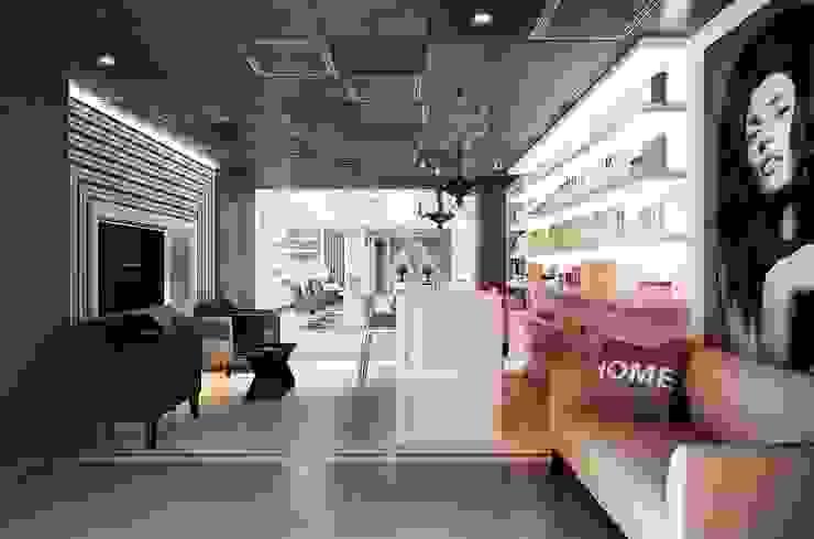 GlamVie. Salon Торговые центры в эклектичном стиле от KAPRANDESIGN Эклектичный МДФ