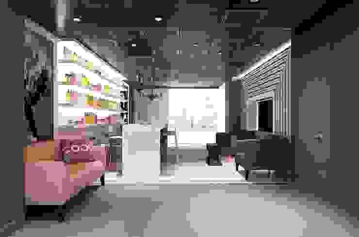 GlamVie. Salon Офисы и магазины в эклектичном стиле от KAPRANDESIGN Эклектичный МДФ
