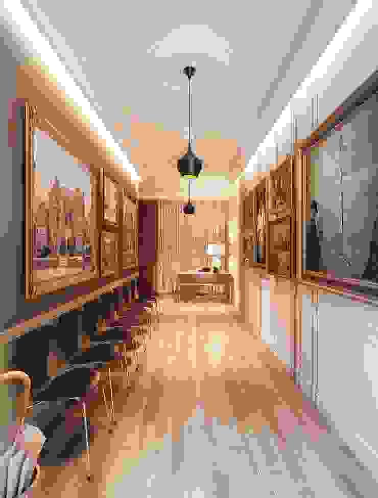 Maximov Studio. New York Выставочные центры в эклектичном стиле от KAPRANDESIGN Эклектичный Дерево Эффект древесины