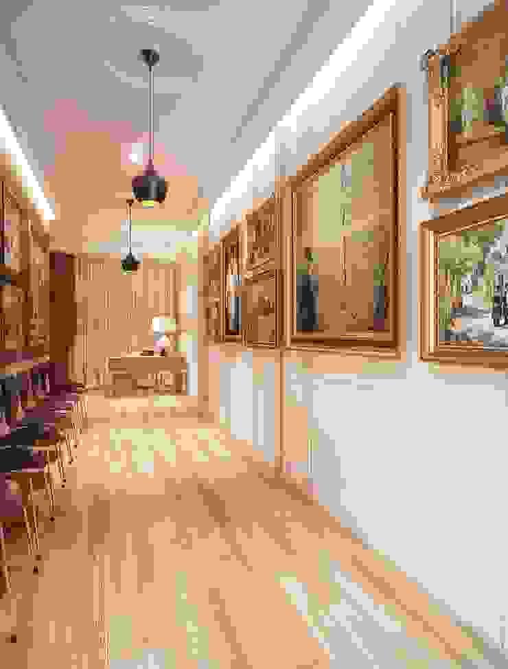 Maximov Studio. New York Выставочные павильоны в скандинавском стиле от KAPRANDESIGN Скандинавский Дерево Эффект древесины