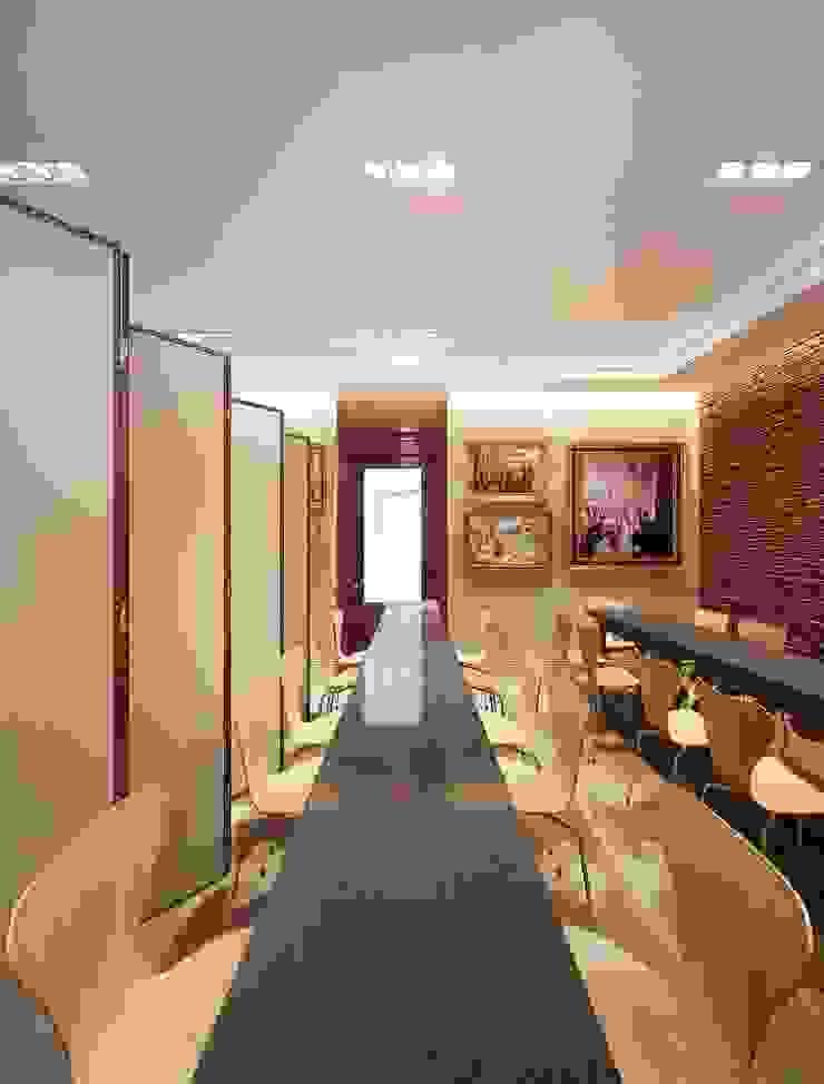 Maximov Studio. New York Выставочные павильоны в эклектичном стиле от KAPRANDESIGN Эклектичный Кирпичи